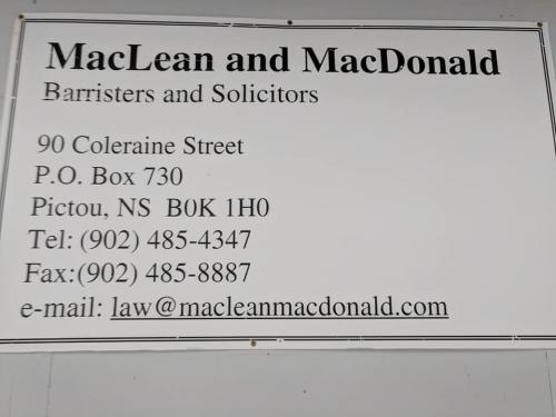 MacLean & McDonald